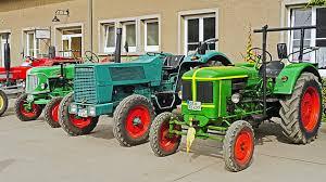 tractors oldtimer parade exhibition