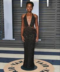 lupita nyong o attends the 2018 vanity fair oscar party at wallis annenberg center for