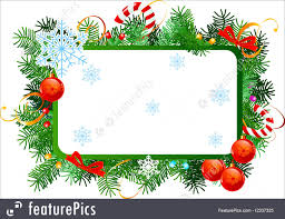 christmas frames and border christmas vector frame with red christmas