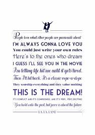 lala land quotes.  Quotes Image Result For La Land This Is The Dream Quote Inside Lala Land Quotes E