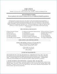 Resume For Nursing Student Artemushka Com