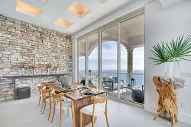 how to bring stone walls indoors with