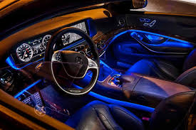 pit with ambient lighting 2016 mercedes benz s class