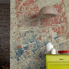 wall murals by surfaceview and the museum of london