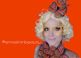 effie trinket erfly makeup costume the hunger games catching fire