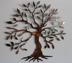 olive tree tree of life metal wall art decor small 14 version on silver metal wall art trees with olive tree silver tree of life metal wall art decor mini 14