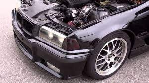 Coupe Series 325i bmw 95 : Loud Supercharger on E36 BMW 325i 300HP at idle. - YouTube