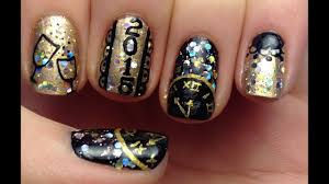 New Years Nail Polish Designs Nail Art Design Ideas For New Years Eve Diy Projects