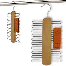 hanging tie rack