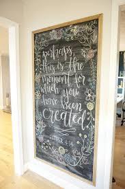 Framed Magnetic Chalkboard DIY