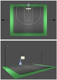 outdoor basketball court lighting packages half regarding