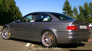 Sport Series bmw m3 2004 : LOUD BMW M3 CSL w/ Supersprint Exhaust! Powerslide, Revving and on ...