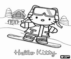 What about coloring this beautiful coloring page with hello kitty and her friends mimmy and fifi going to school? Hello Kitty Coloring Pages Printable Games
