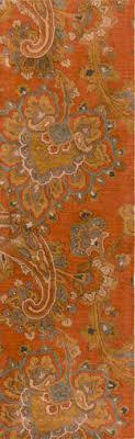 burnt orange rug. The Sea In Burnt Orange Rug