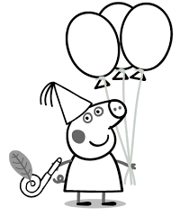 Coloring Pages Photo Peppa Pig Site Coloring Pages Images Peppa Pig
