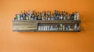 wall mounted liquor cabinet ideas