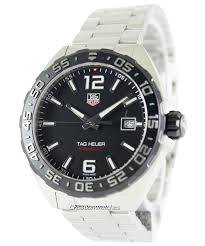heuer formula one black dial stainless steel waz1110 ba0875 men s tag heuer formula one black dial stainless steel waz1110 ba0875 men s watch