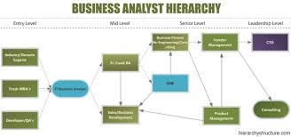 business analyst hierarchy ba roles and responsibilities