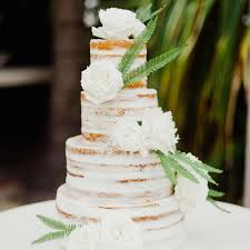 Simple 3 Tier Wedding Cake Designs These Minimal Naked Cakes Are Perfect