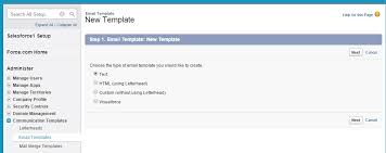 Save Email Template Save Time By Creating Email Templates In Salesforce