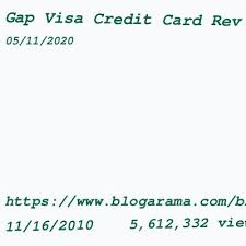 Redeem right to your paypal balance whenever you want. Gap Visa Credit Card Login Login Page