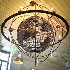 globe chandeliers chandelier large architectural image crystal globe chandeliers the lighting antique copper metal crystal