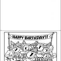 black and white printable birthday cards 70 best happy birthday cards images special day anniversary cards