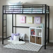 Twin Loft Bed With Storage Underneath Open Travel