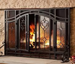 popular of fireplace screen doors with 11 best custom fireplace 4