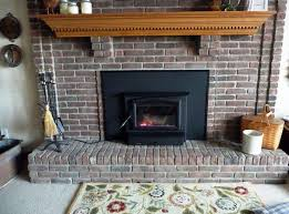 image of gas fireplace inserts with blower