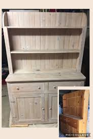 white washed pine furniture. Pickled Hutch (whitewash) Knotty Pine White Washed Pine Furniture E