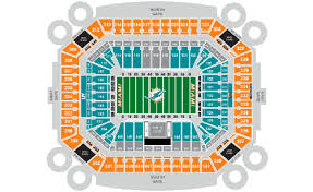 Miami Dolphins Hard Rock Stadium Seating Chart 79 Eye Catching Miami Hurricanes Seating Chart