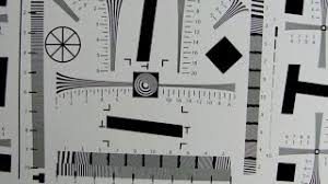 Lens Sharpness Test Chart Pdf