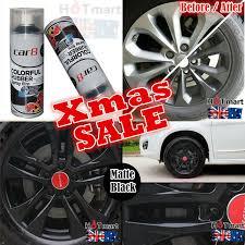 details about 6x can matt black rubber paint wheel rim car8 plasti dip paint spray removable