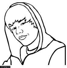 coloring pages justin bieber with a hoo coloring page printable big coloring pages of justin bieber