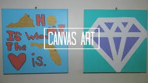 Home Design : Cool Easy Painting Ideas For Canvas Backsplash Kids
