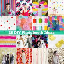 day 21 of my 50 diy days 28 diy photobooth ideas