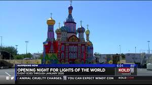 Kino Lights Tucson Lights Of The World Returns To Tucson Dazzling The Night Sky