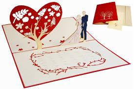 Pop Up Card Wedding Cards Wedding Invitation Wedding Anniversary