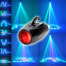 Online Laser Light Show Us 64 Led Mini Projector Rgb Dj Disco Light Stage Lighting