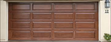 garage door clopayClopay Model 44 Raised Panel Wood Doors  Garage Door Repair Michigan