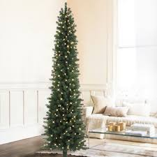 Simple Design Slim Pre Lit Christmas Trees Clearance Rustic Artificial Tree  For Sale Ideas And Decor