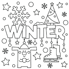 Coloring is a very useful hobby for kids. Winter Coloring Pages For Toddlers Books Preblue Puppy Fruits Free Printable Colouring Tures Kids Snow Wonderland Oguchionyewu