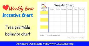 Perspicuous Free Printable School Chart Behaviour Reward