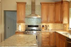 Black Granite Countertops With Tile Backsplash Magnificent Countertops And Backsplash Ideas Black Granite Maple Cabinets Ideas
