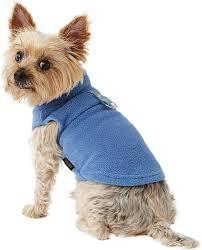 Gooby Size Chart Gooby Fleece Dog Cat Vest Blue Small