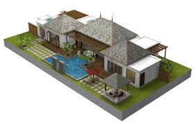 Bali Inspired Home Plans