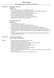 Human Resources Assistant Resume Examples Hr Admin Assistant Resume Samples Velvet Jobs