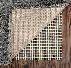 5x7 rug pad anti slip rug pad for under area rugs carpets runners doormats on woo 5x7 rug pad