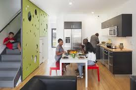 architecture houses design. Designed By Onion Flats, The Belfield Avenue Townhomes, In Philadelphia, Are Passive House Architecture Houses Design E